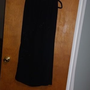 Venezia Black Dressy Skirt Size 20